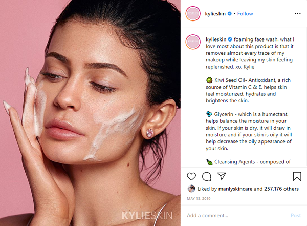Kylie Skin Face Wash